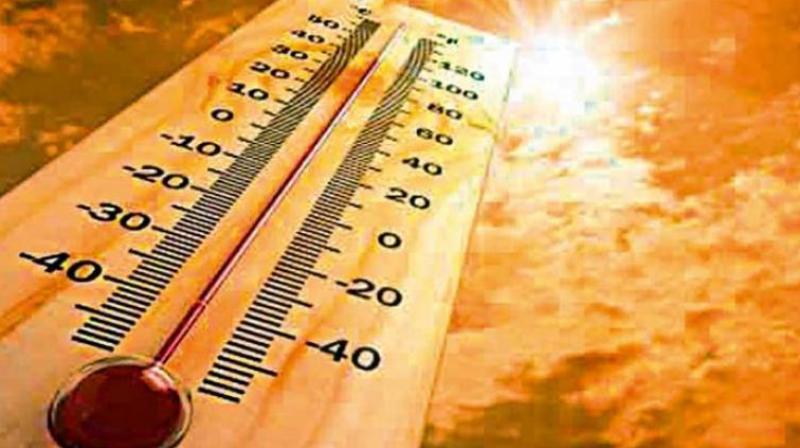 Mercury close to 36 degree celsius in Hyderabad