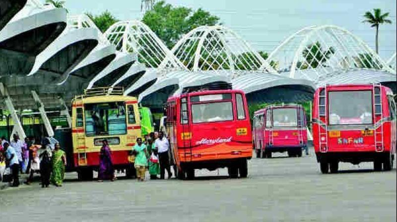 RTC commuters suffer in Hyderabad