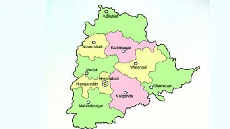 8 districts in Telangana get deficit rains