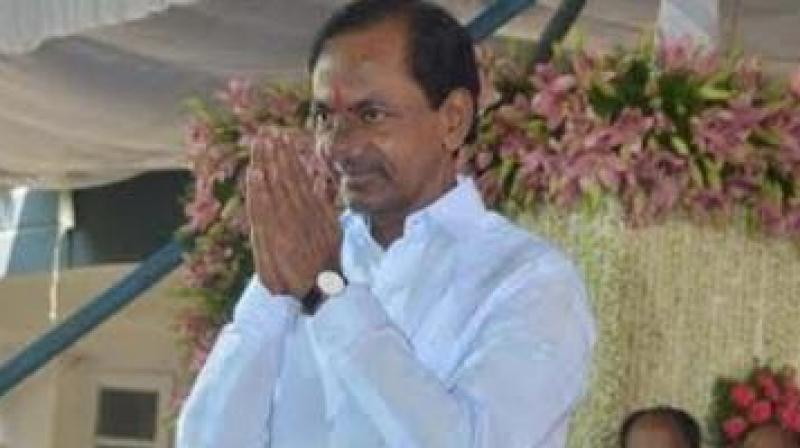 K Chandrashekar Rao honours IAS, IPS officers on I-Day