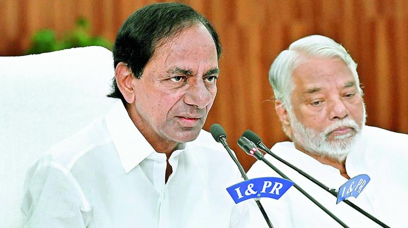 Errors on pattadar passbooks irk K Chandrasekhar Rao
