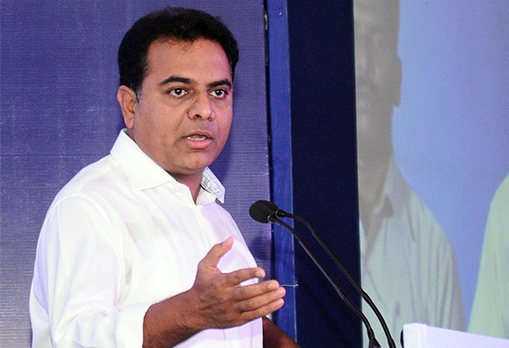 KT Rama Rao bombarded with queries and requests