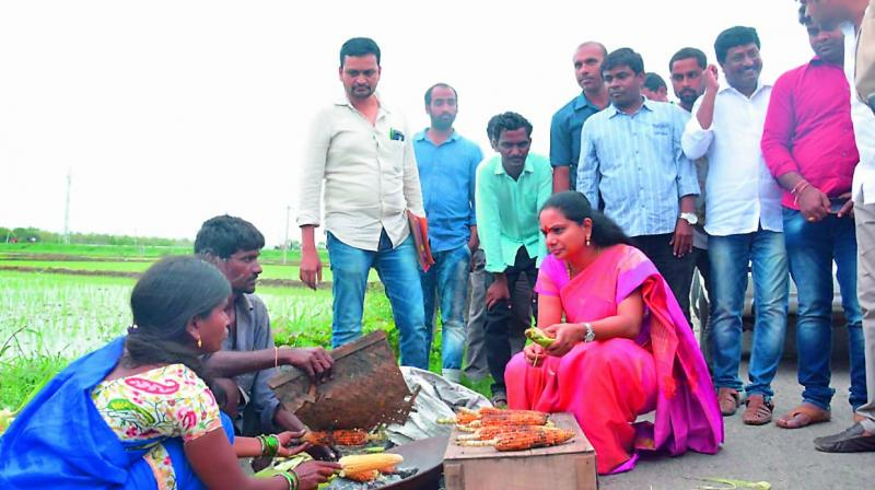TRS will be part of Centre: K Kavitha