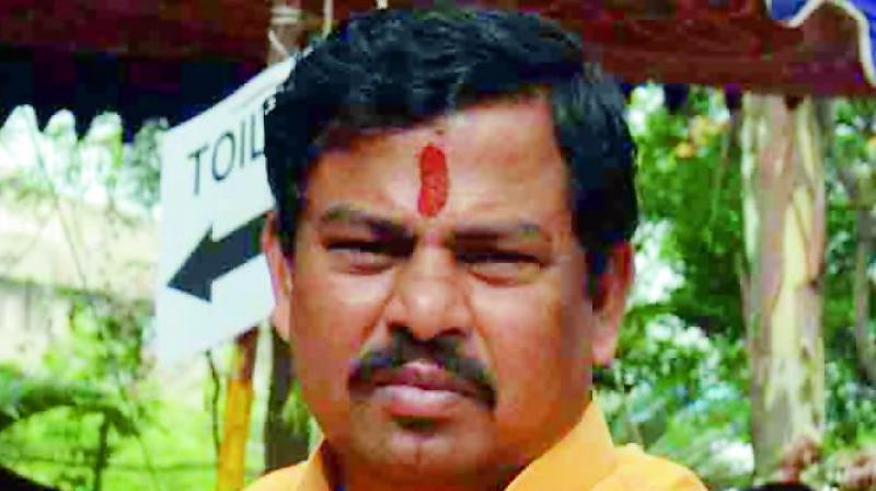 BJP MLA from Telangana tenders resignation over issue of cow protection
