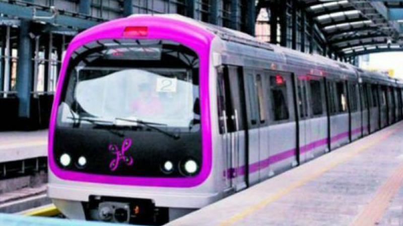 Men enter womens coaches in Hyderabad Metro Rail
