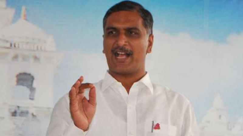 N Chandrababu Naidu seeks merger of AP, TS: Harish Rao