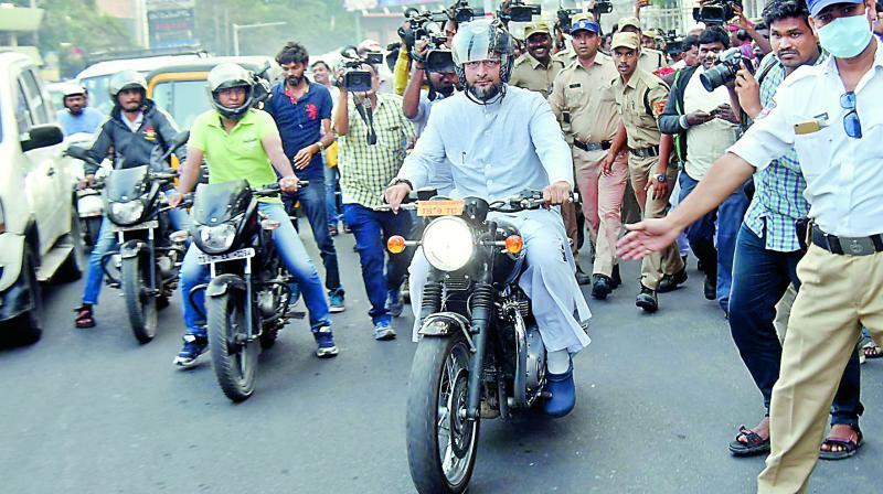 K Chandrasekhar Rao will be the Chief Minister, says Asaduddin Owaisi