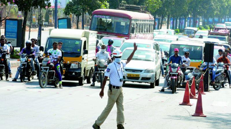 Hyderabad: Traffic curbs for 'Chhatrapati Shivaji Maharaj' birthday fete
