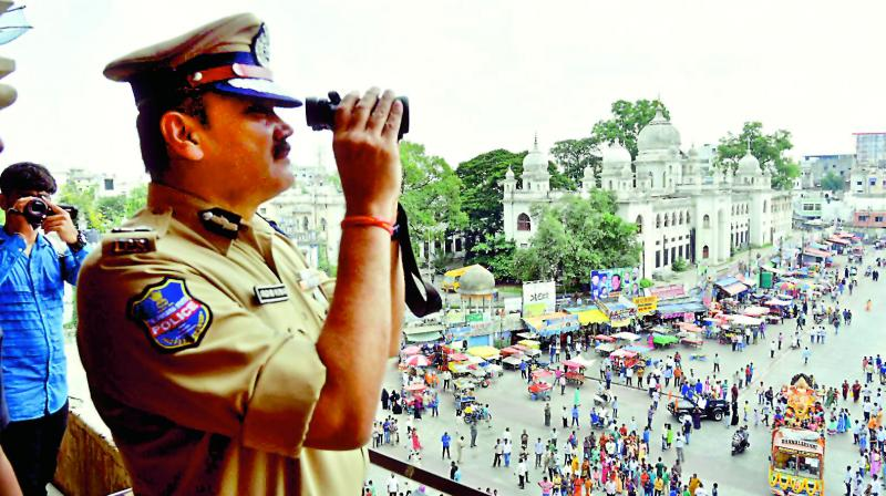 Hyderabad: Traffic diverted for Hanuman rally