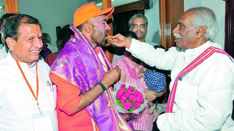 TRS, Congress do enough to halt BJP wave in state