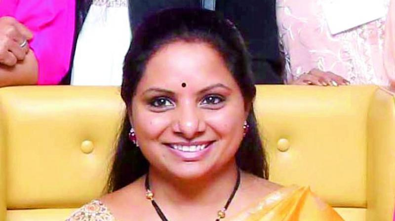 Kavitha unable to reap benefits of K Chandrasekhar Rao's effort