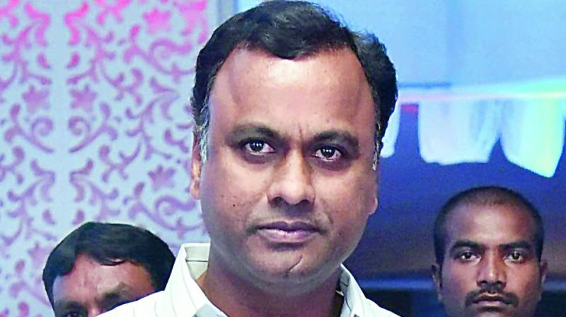 Komatireddy Rajagopal Reddy wanted to be TPCC chief