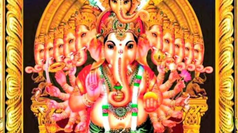 Hyderabad: Biggest Ganesh idol this year