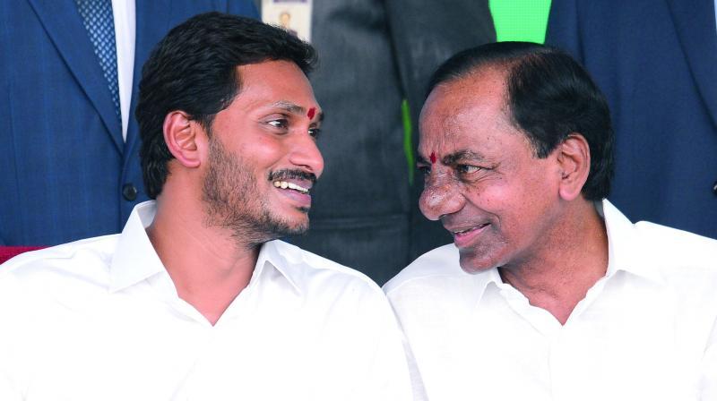 KCR, YS Jagan Mohan Reddy to talk split issues