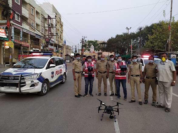 Cyient helping TS police via drone-based surveillance