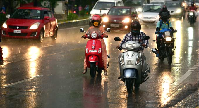 Rains lash parts of Telangana