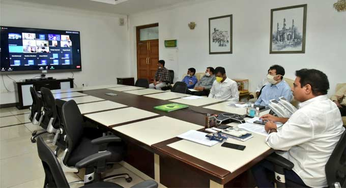 Emerging technologies helped govt to deal with Covid pandemic: KTR